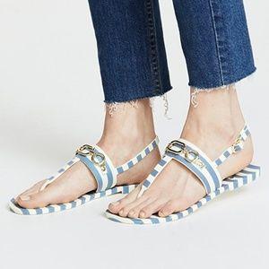Kate Spade Polly Flat Jelly Sandal size 8